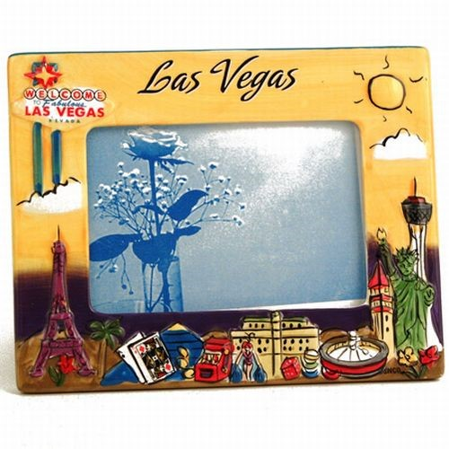 Smith Novelty Las Vegas Souvenir Picture Frame