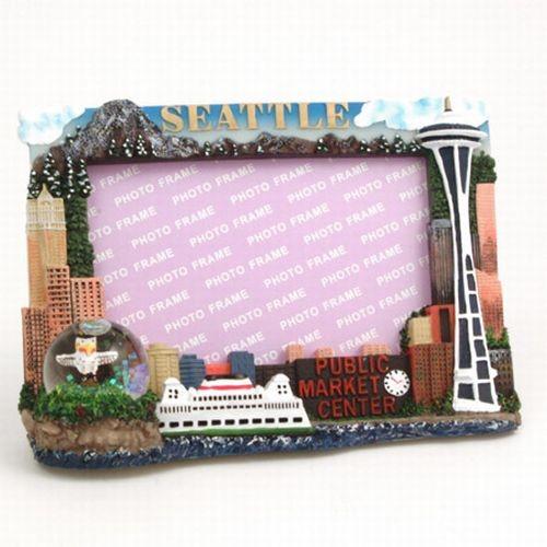 Michaels Company Seattle Souvenir Picture Frame