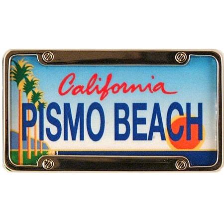 Pismo Beach Mini License Plate Magnet