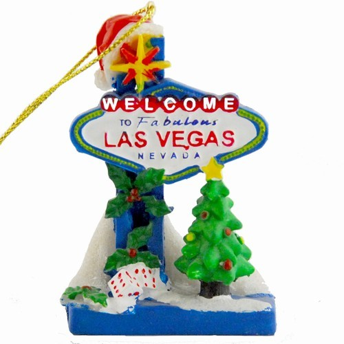 Smith Novelty Las Vegas Souvenir Christmas Ornament