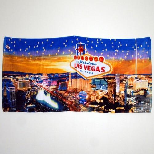 Las Vegas Stars Beach Towel