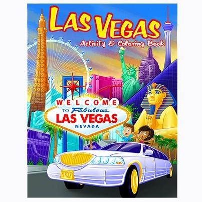 Smith Novelty | Las Vegas Coloring Book